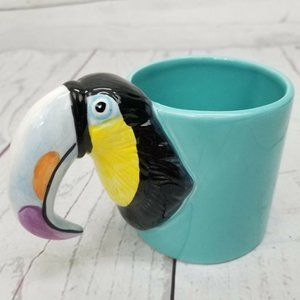 Vintage Bergschrund Toucan Coffee Mug Cup Seattle